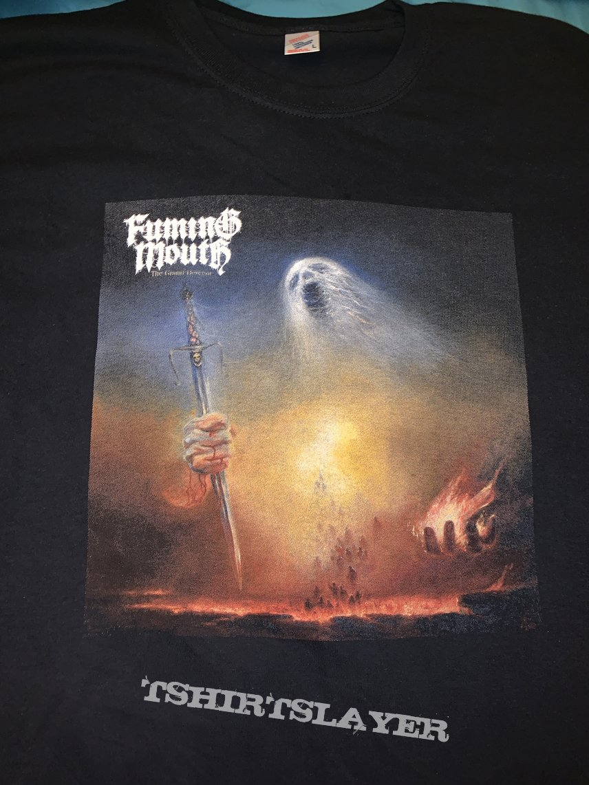 Fuming Mouth: The Grand Descent album t-shirt