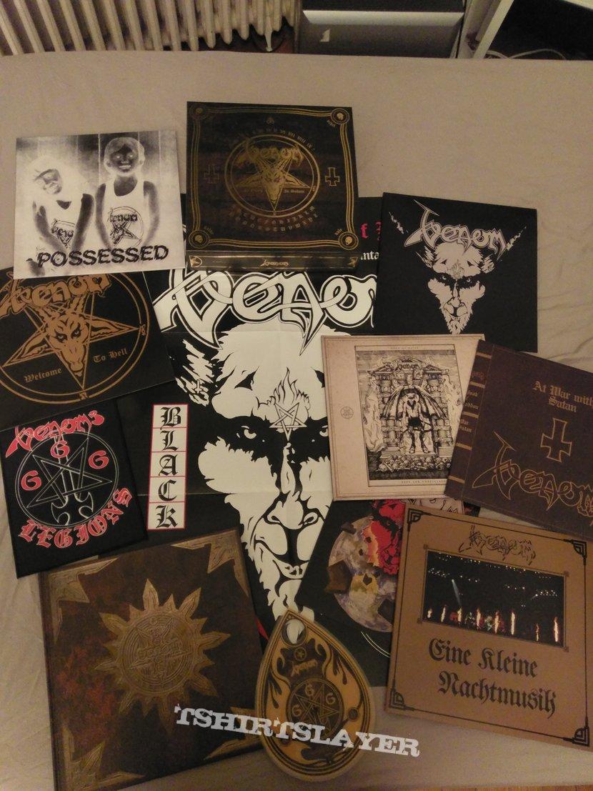 Venom - In nomine Satanas Boxset