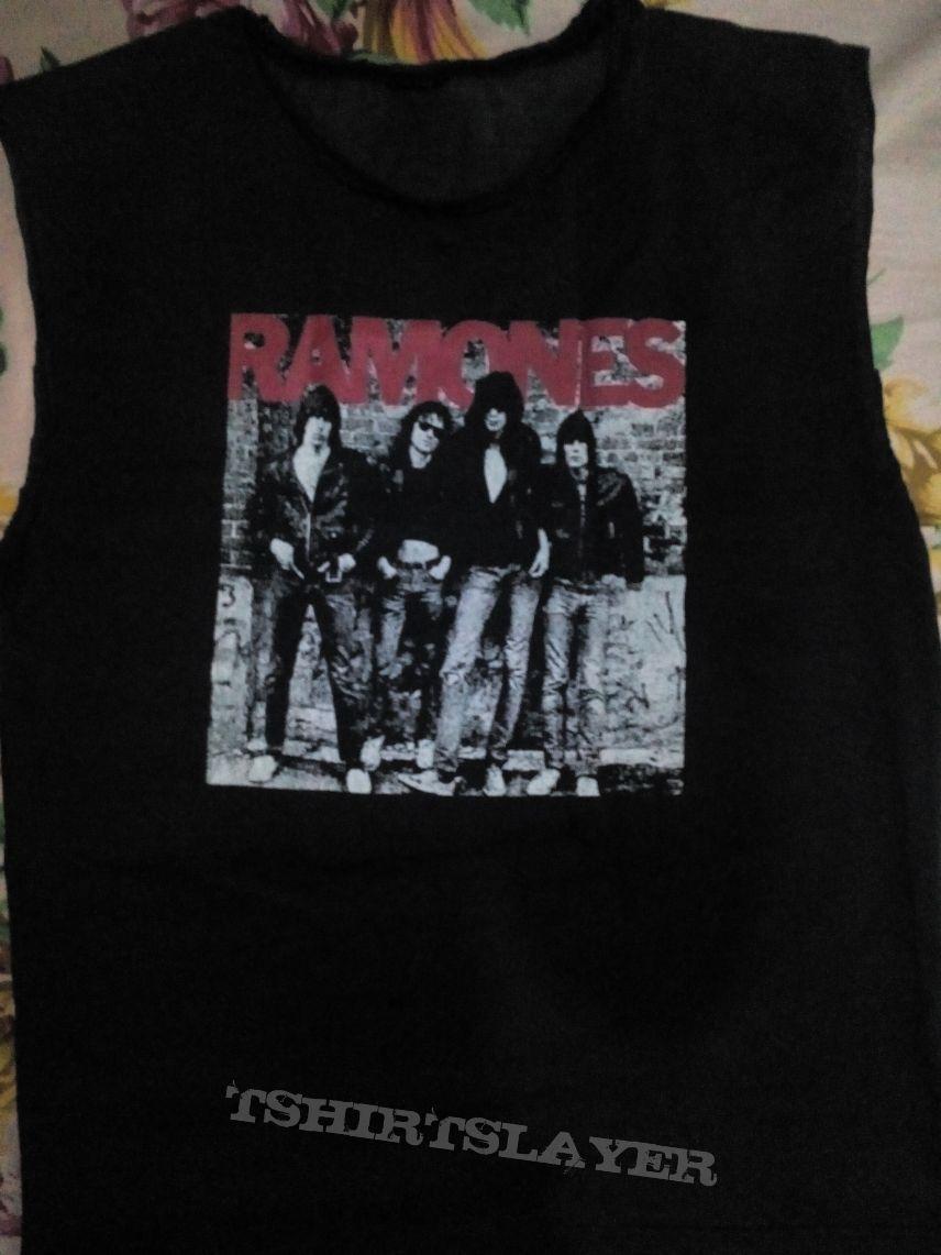 Ramones Cut Off Sleeves