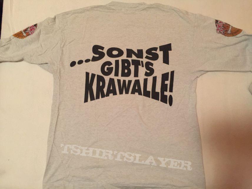 """Tankard - classic """"Freibier für alle..."""" LS / Size: XL"""