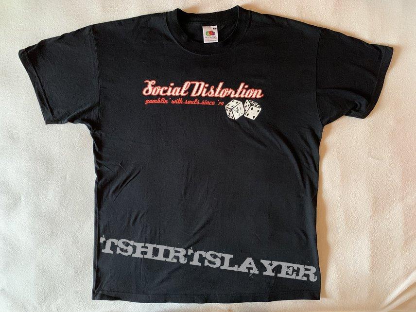 "Social Distortion - ""gamblin' with souls since '79"" shirt / Size: XL"