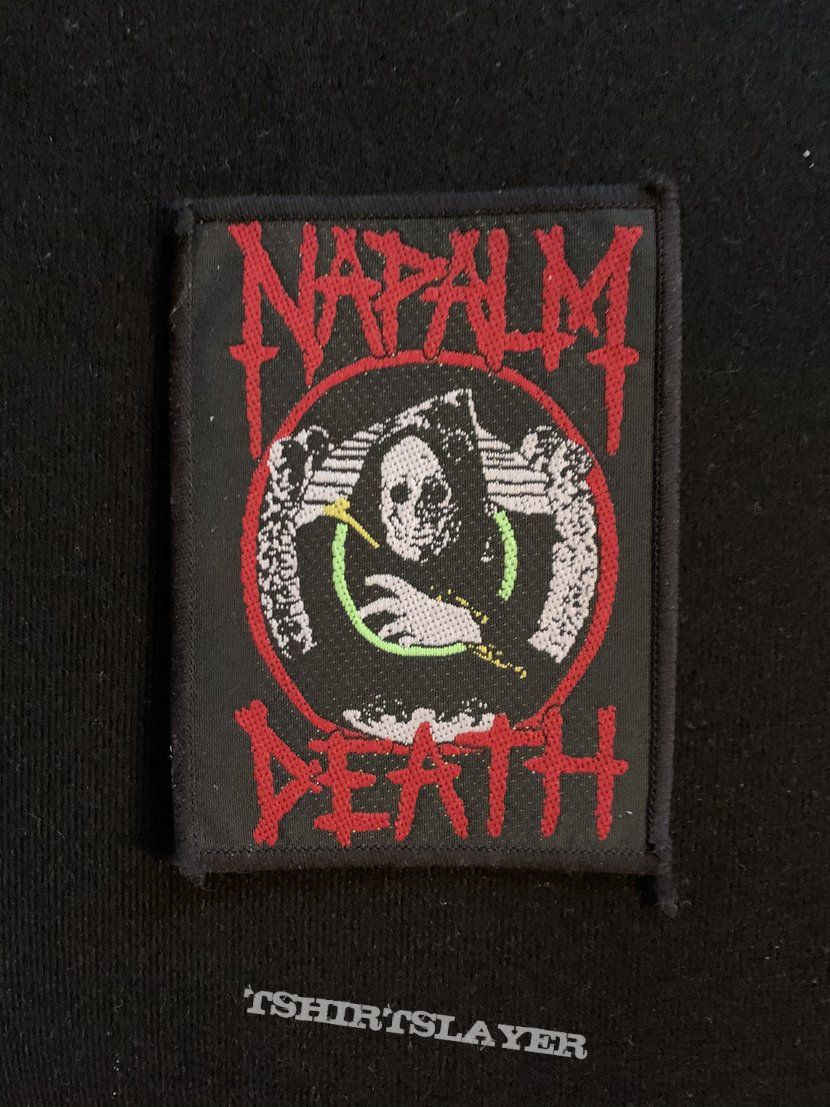 """Napalm Death - """"Life?"""" Patch"""