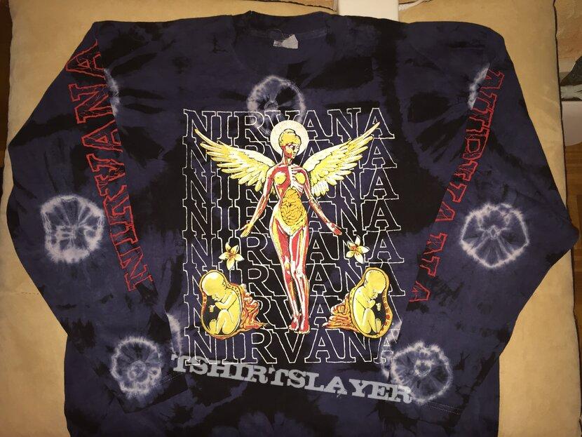 "Nirvana - ""In Utero"" (tie-dyed) longsleeve"