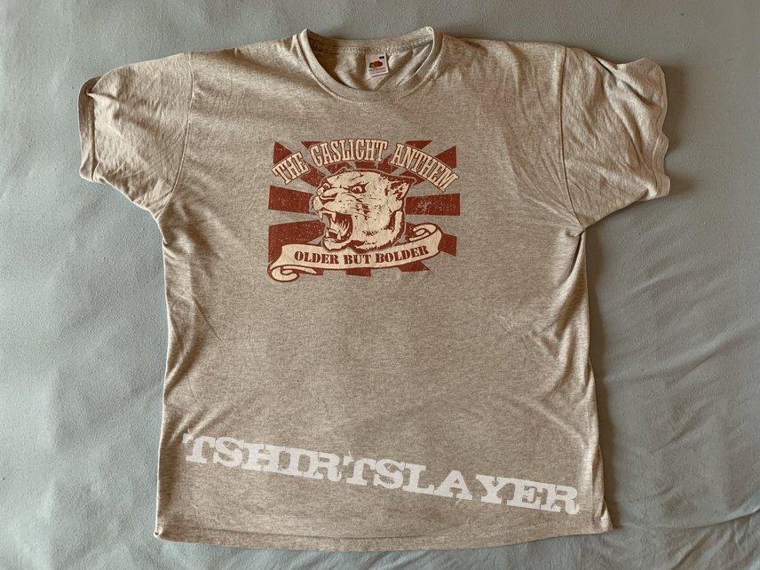 """The Gaslight Anthem - """"Older but Bolder"""" Shirt / Size: XL"""