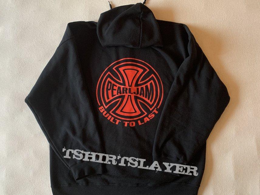 """Pearl Jam - """"Built to last"""" zip hoodie / Size: XL"""