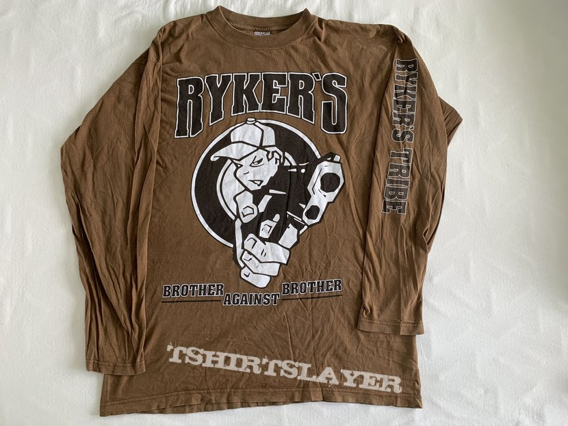 """Ryker's - """"Brother against brother"""" LS / Size: XL"""