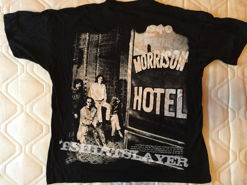 "The Doors - ""Morrison Hotel"" shirt / Size: XL"
