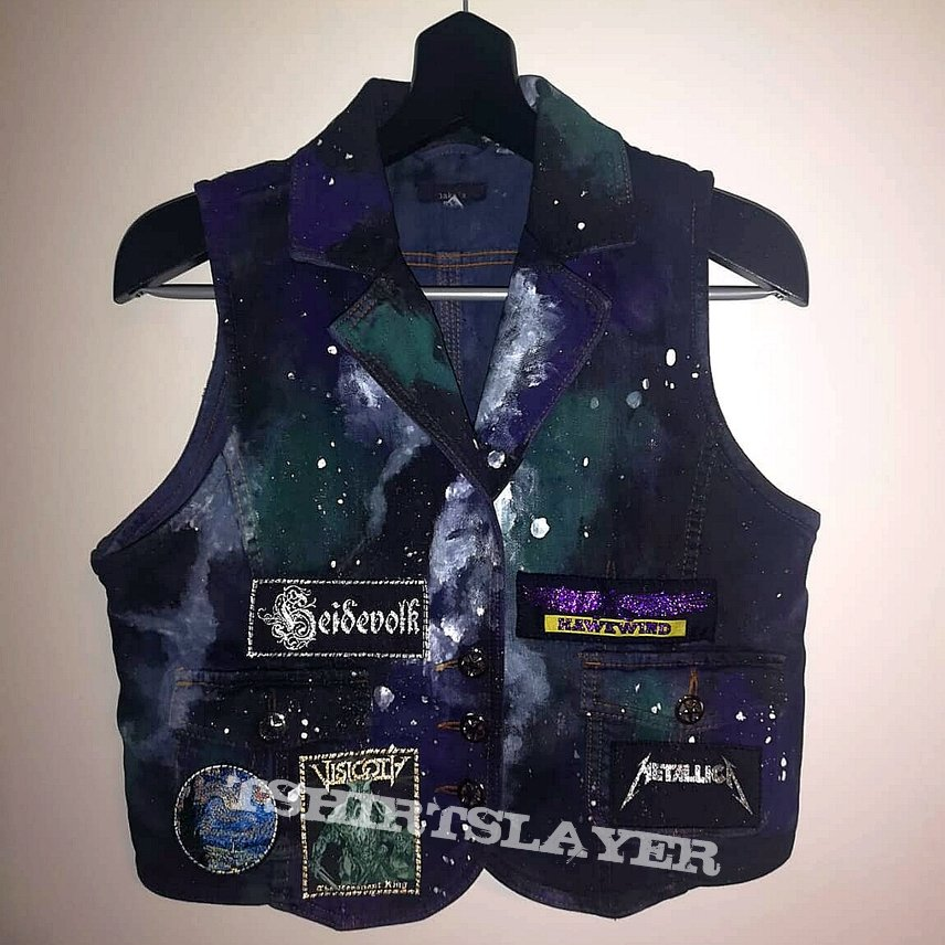 Space Vest (Hand Painted)