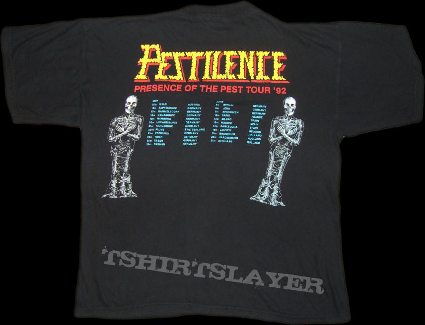 Pestilence - Testimony of the Ancients - Tour Shirt