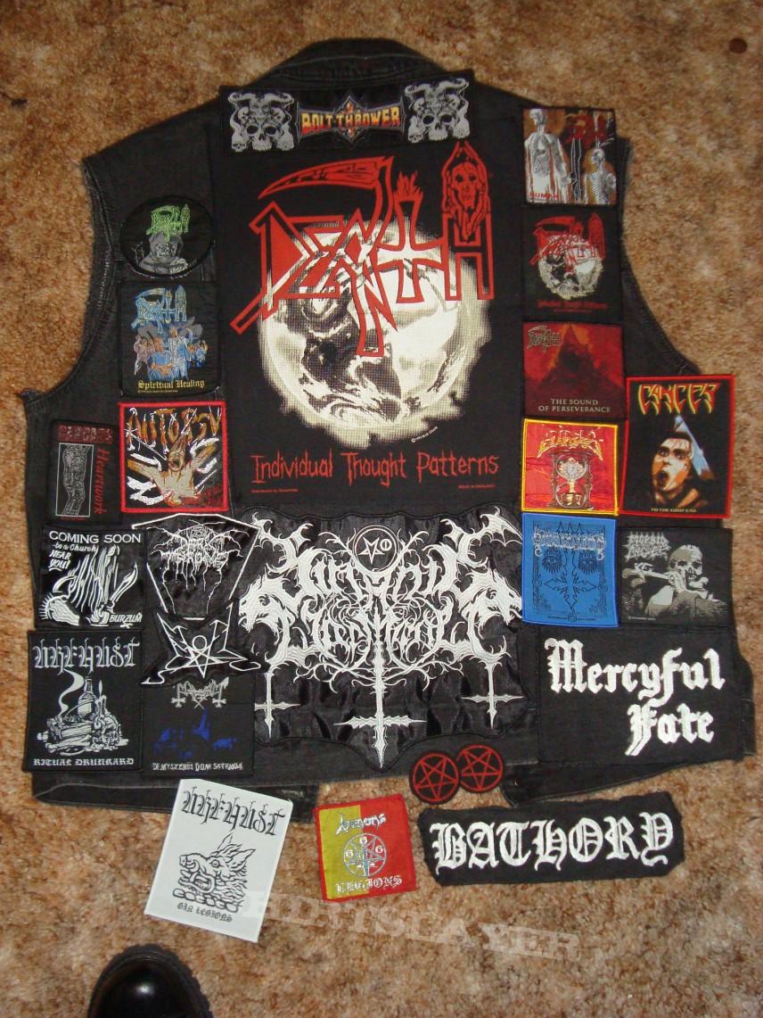 Battle Jacket - Possible vest layout