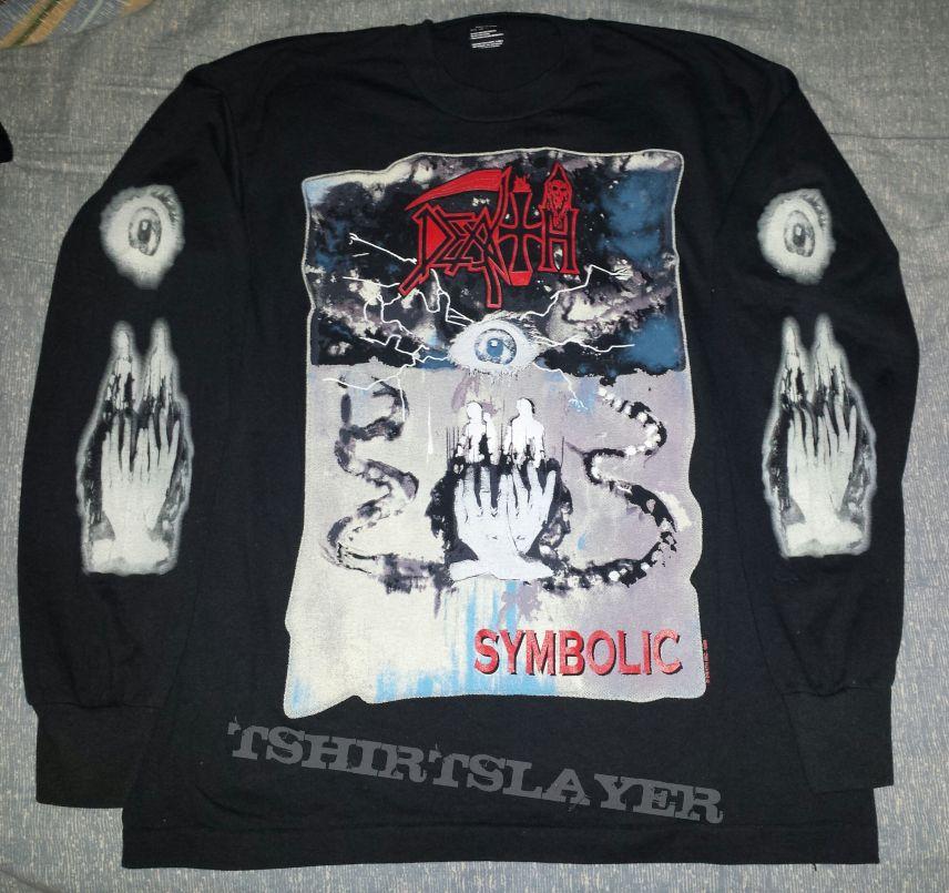 Death Symbolic Metal To The Masses Tour Ls Tshirtslayer Tshirt