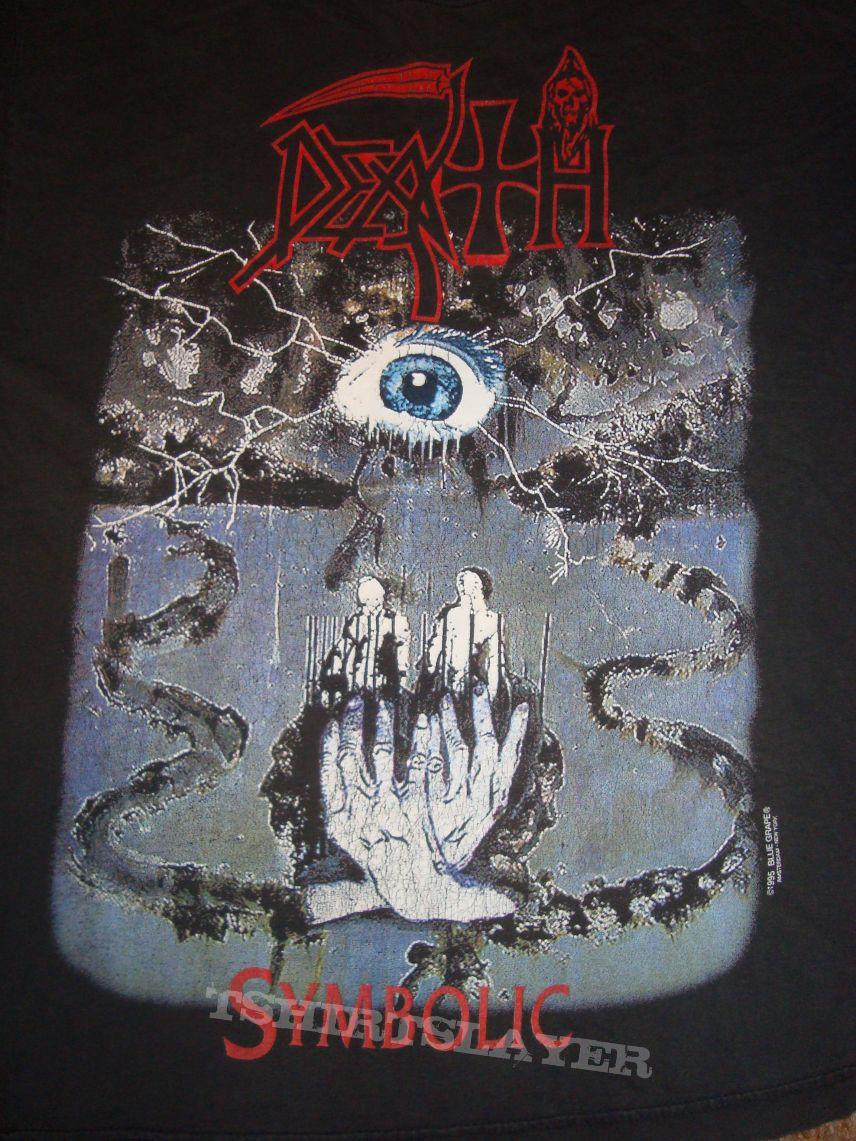 Death symbolic tour euro tshirtslayer tshirt and battlejacket death symbolic tour euro buycottarizona Images