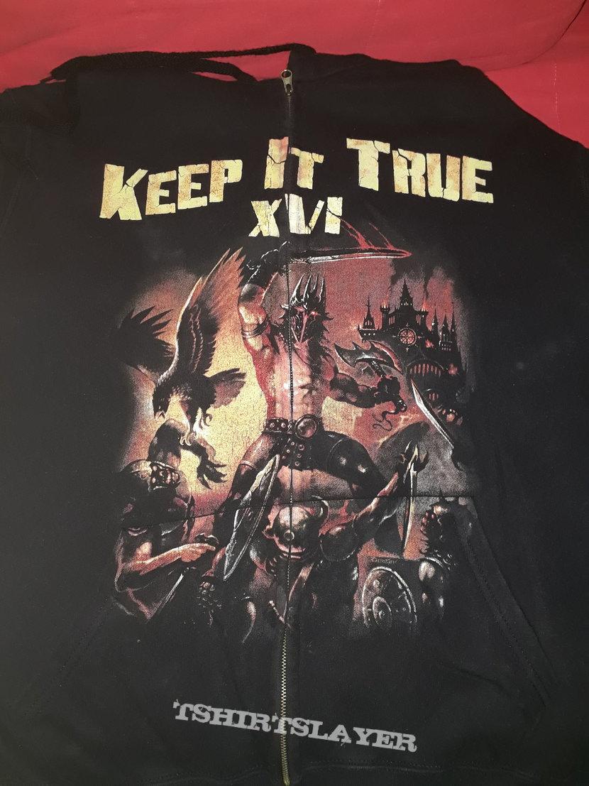 Official Keep it True zipper hoodie