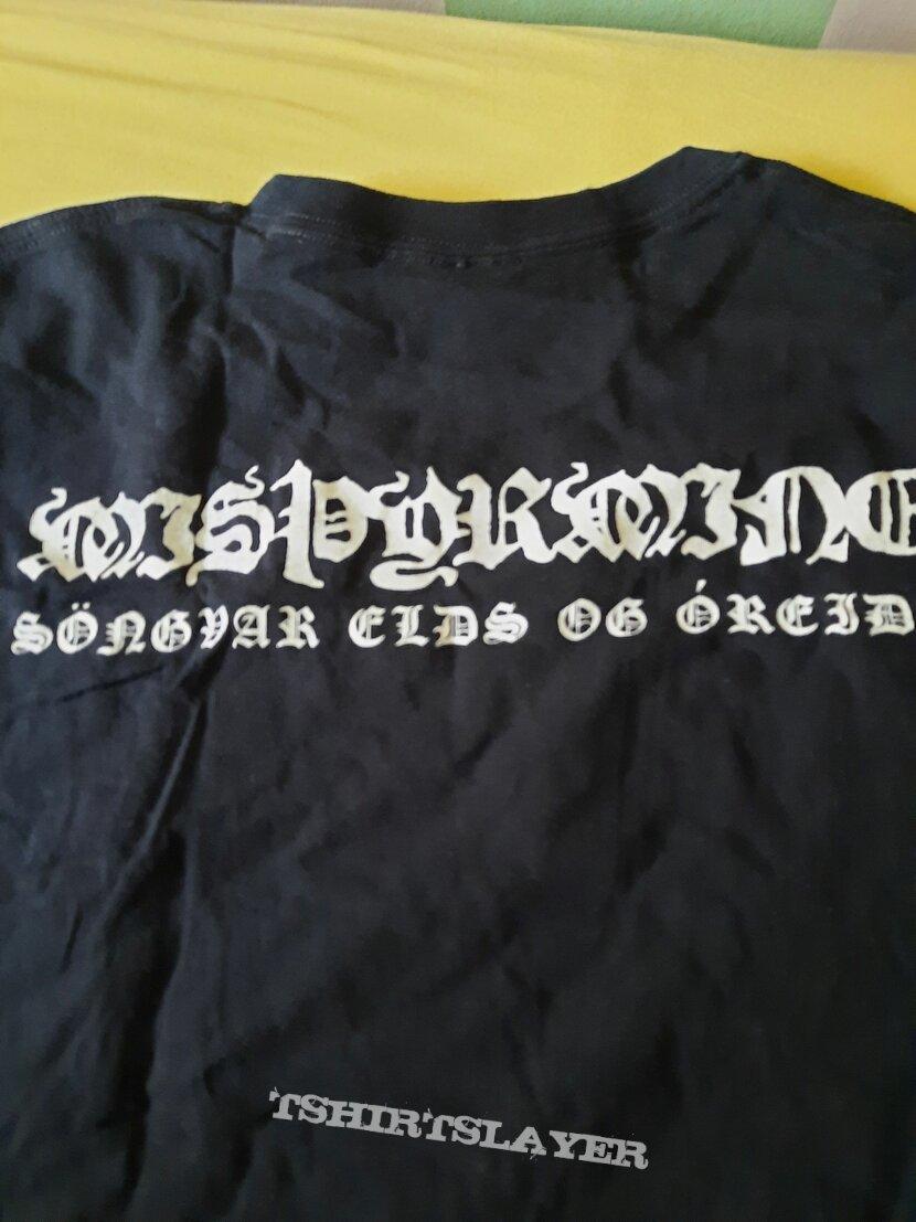 Misþyrming offiial shirt