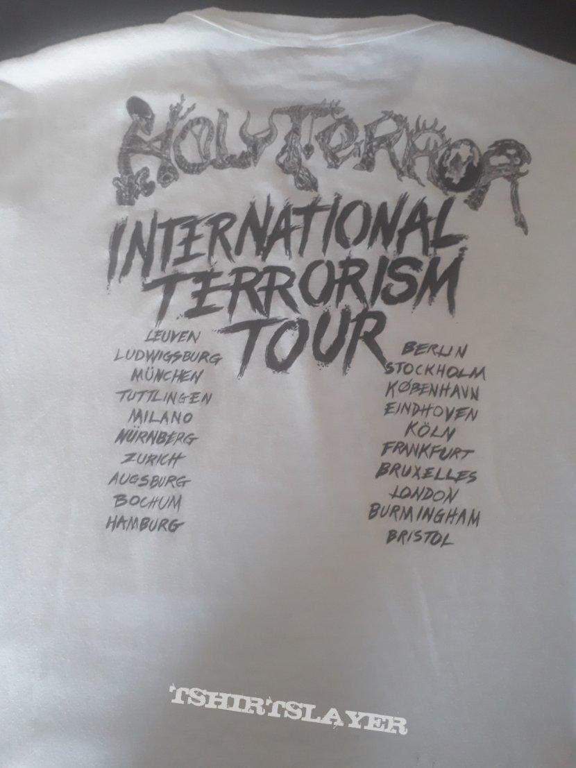 Org Holy Terror white shirt
