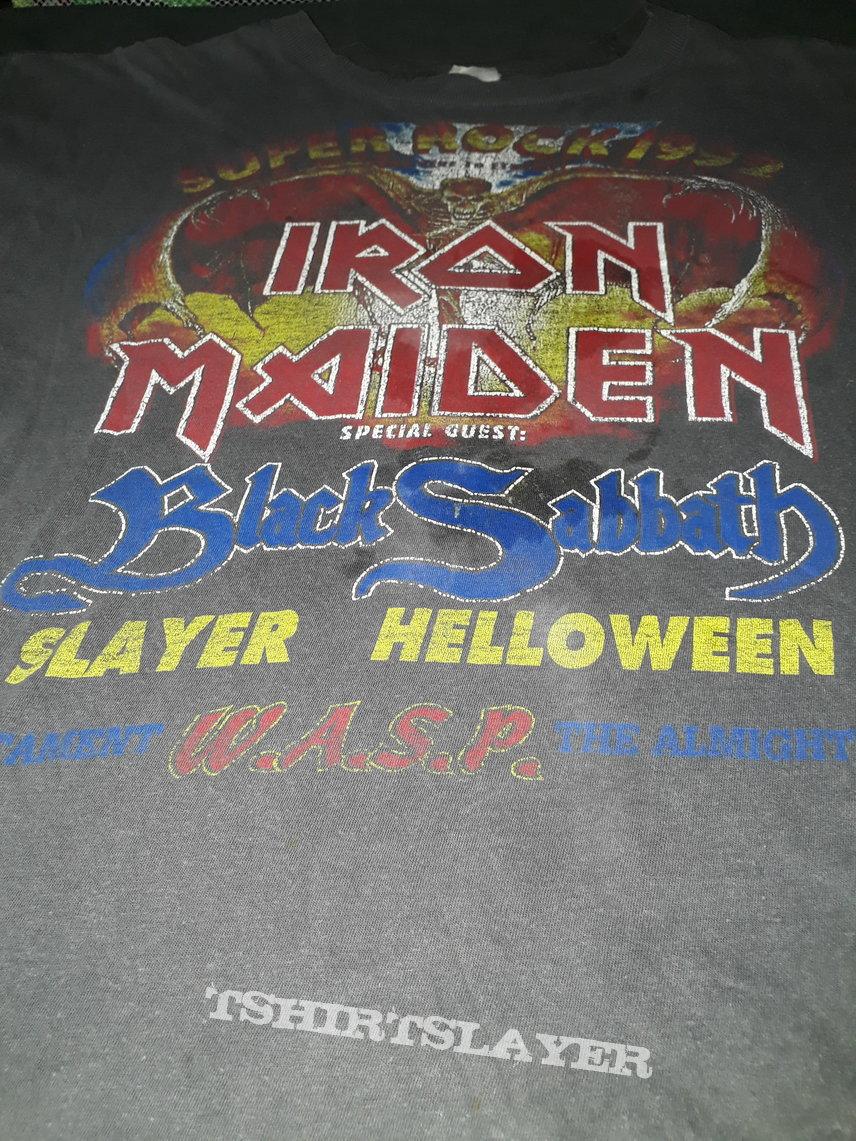 Org 1992 Iron Maiden event shirt