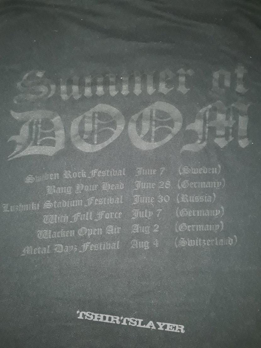 Original 2002 Candlemass tour shirt