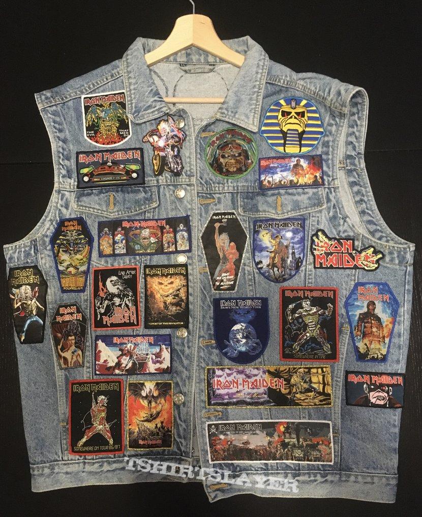 Iron Maiden Dedication Battle Vest - Bootleg version (nr. 1)