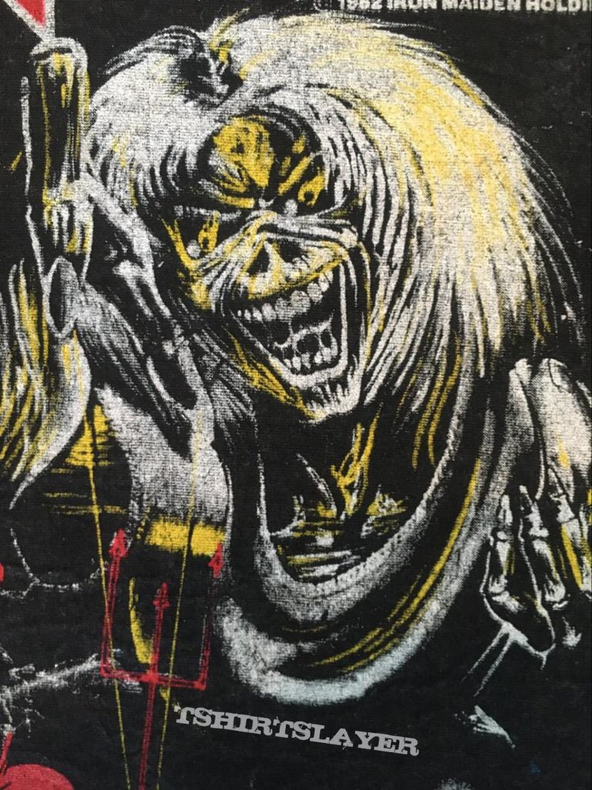 Iron Maiden - Number of the Beast - Vintage Back Patch 1982 (nr. 3)