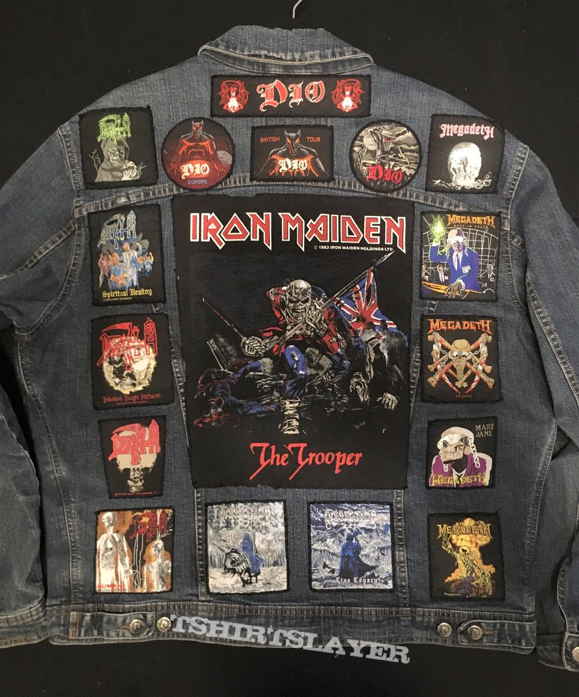 Battle Jacket - Classic Patches only (Jacket nr. 1)