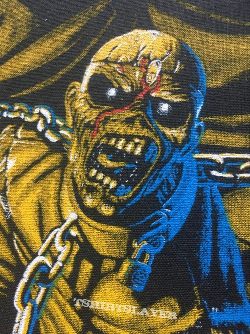 Iron Maiden - Piece of Mind - Back Patch 1983 (Version 2)