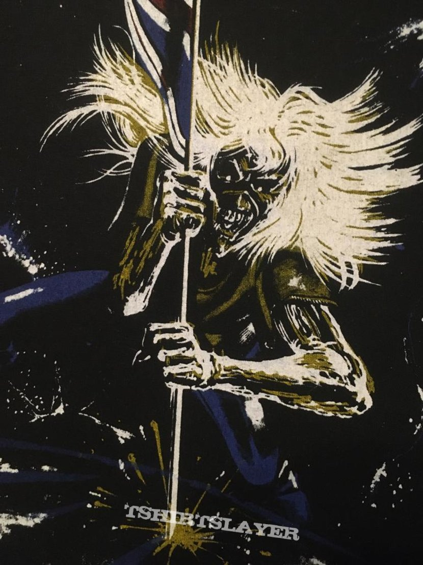 Iron Maiden - Beast on the Road - Back Patch 1982 (2nd Version, nr. 2)