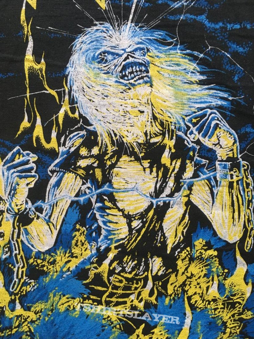 Iron Maiden - Live After Death - Bootleg Back Patch (version 1)