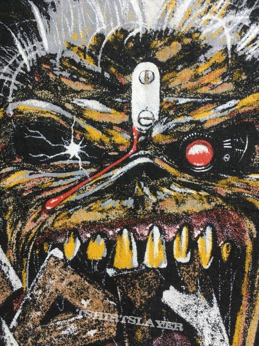 Iron Maiden - Eddie Crunch - Back Patch 1988 (Version 2)