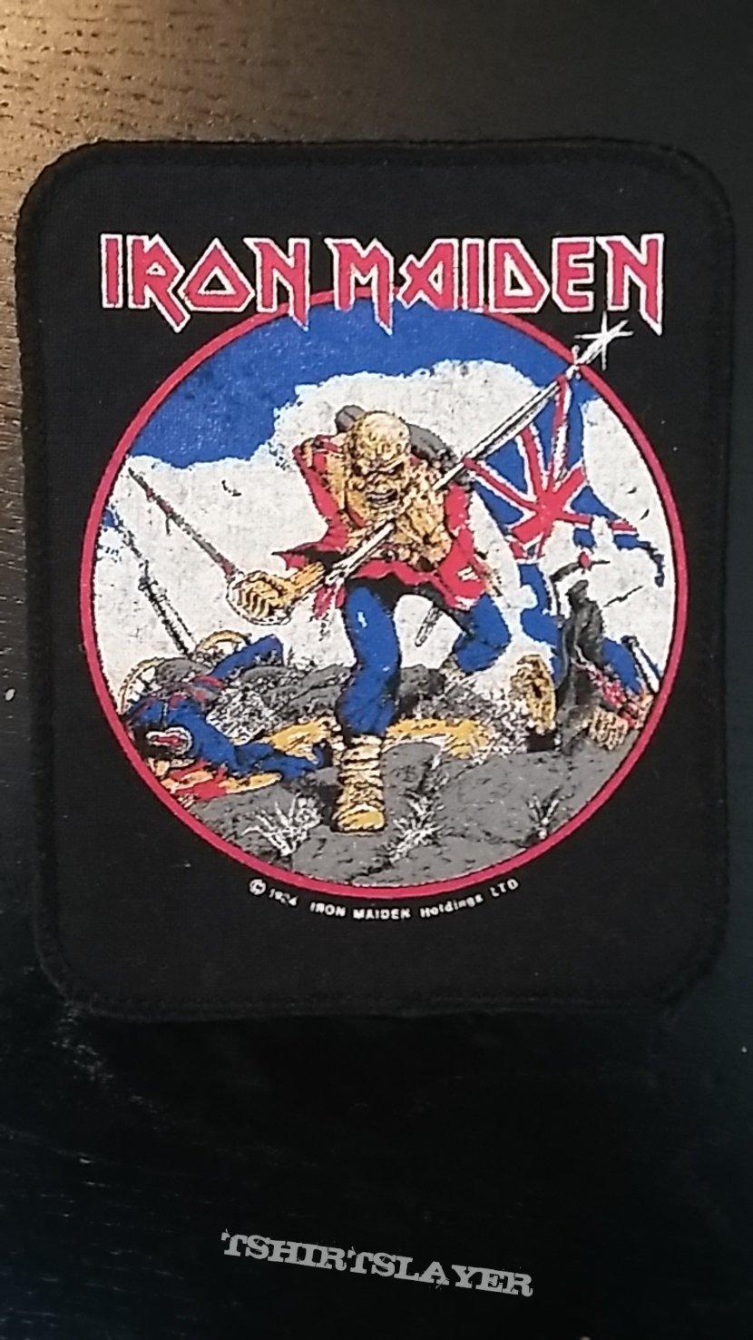 Iron Maiden Patches for Thrash_Maniac