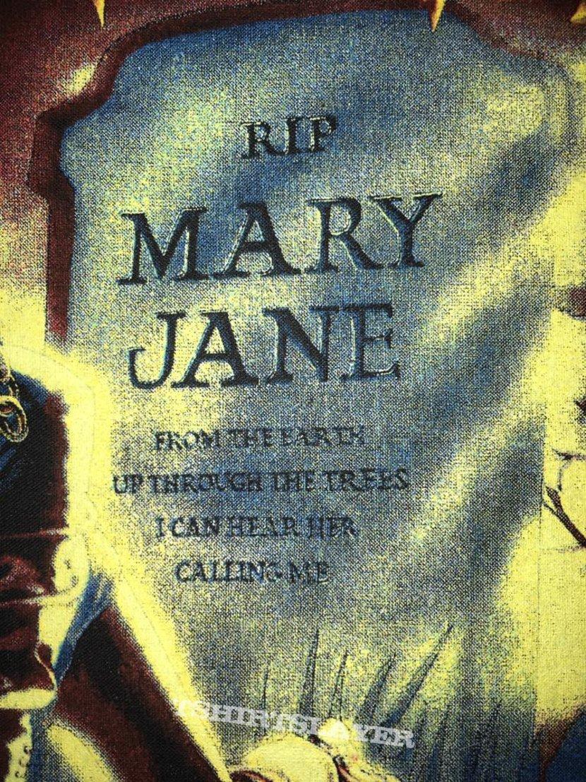 Megadeth - Mary Jane - Back Patch 1988
