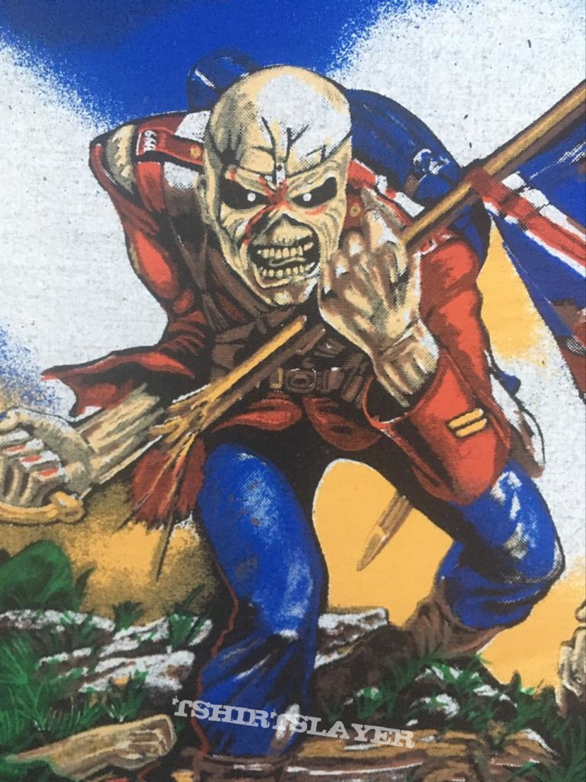 Iron Maiden - The Trooper 1983 (Version 2 - Colorful Version)