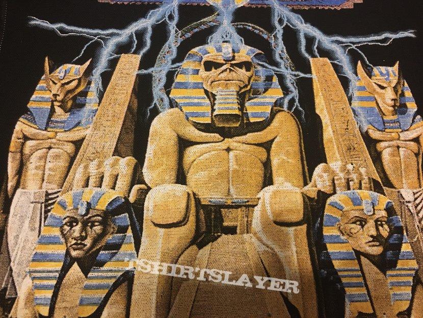 Iron Maiden - Powerslave - Back Patch (Version 3)