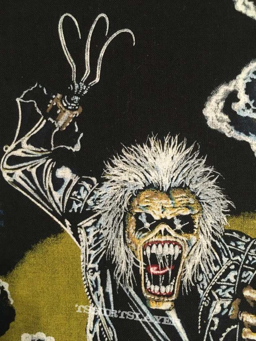 Iron Maiden - Hooks In You - Vintage Back Patch 1990