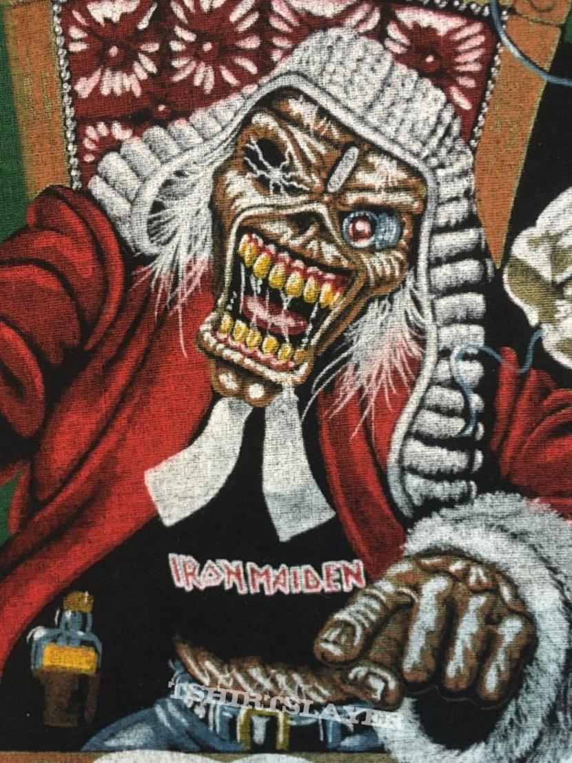 Iron Maiden – Ten Years! – Vintage Back Patch 1990 (Version 1)