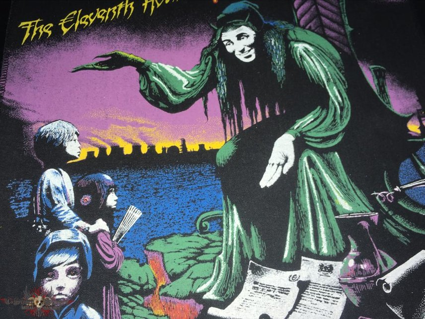 Magnum - The Eleventh Hour - Back Patch