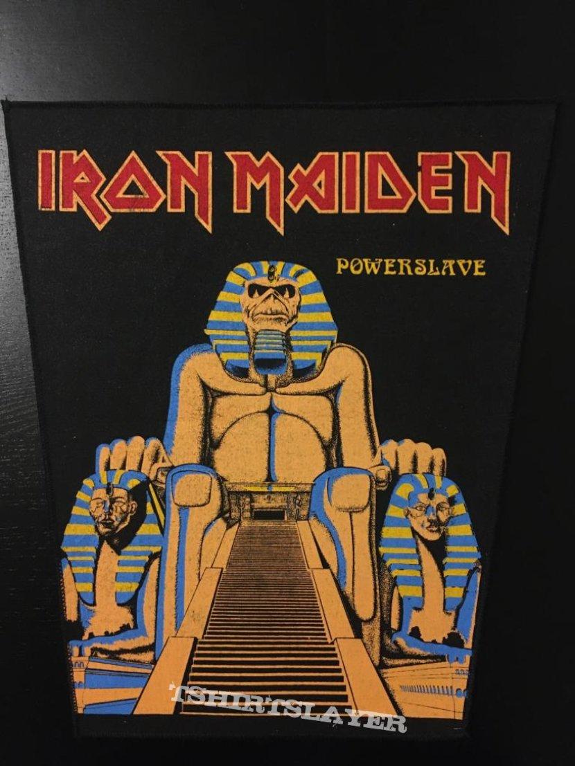Iron Maiden - Powerslave - Back Patch (Version 2)