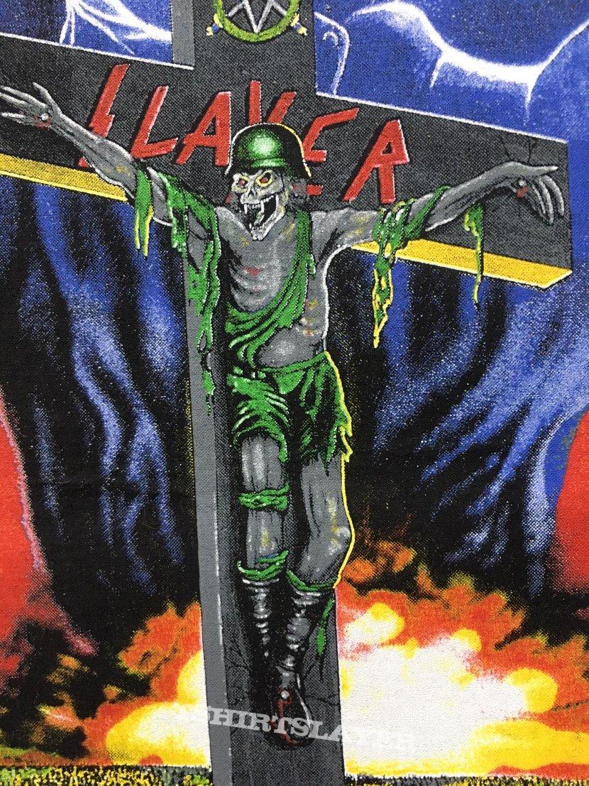 Slayer - War Ensemble - Back Patch 1990