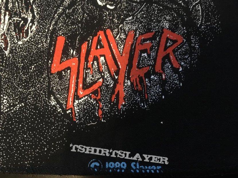 Slayer - Live Undead - Back Patch - 1989