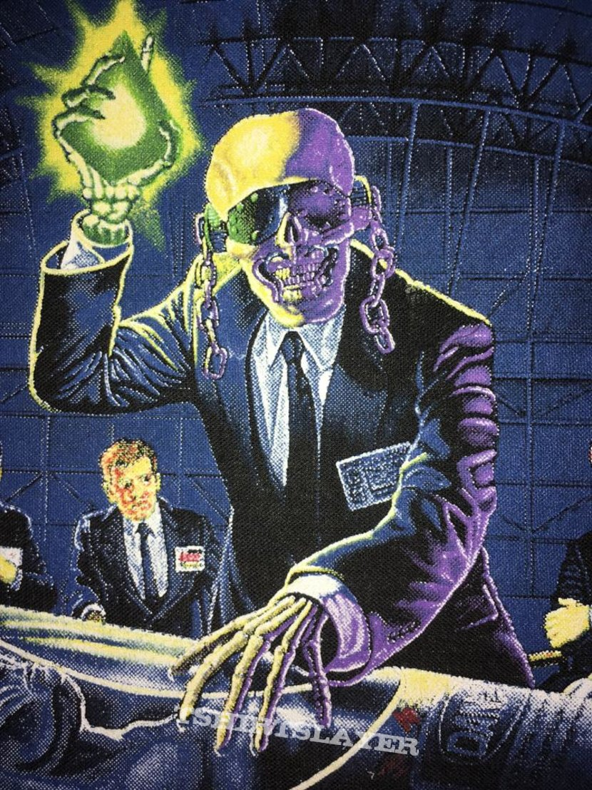 Megadeth - Rust in Peace - Back Patch 1990