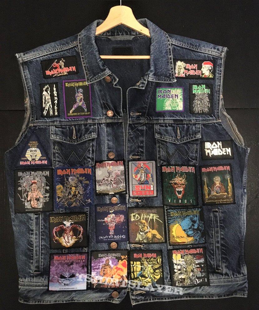 Iron Maiden Dedication Battle Vest - Classic Patches version (nr. 1)