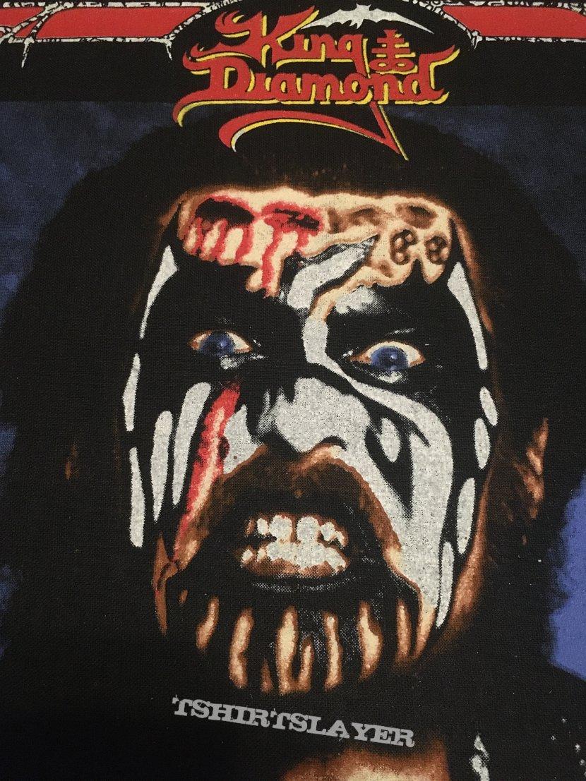 King Diamond - Conspiracy - Back Patch 1990