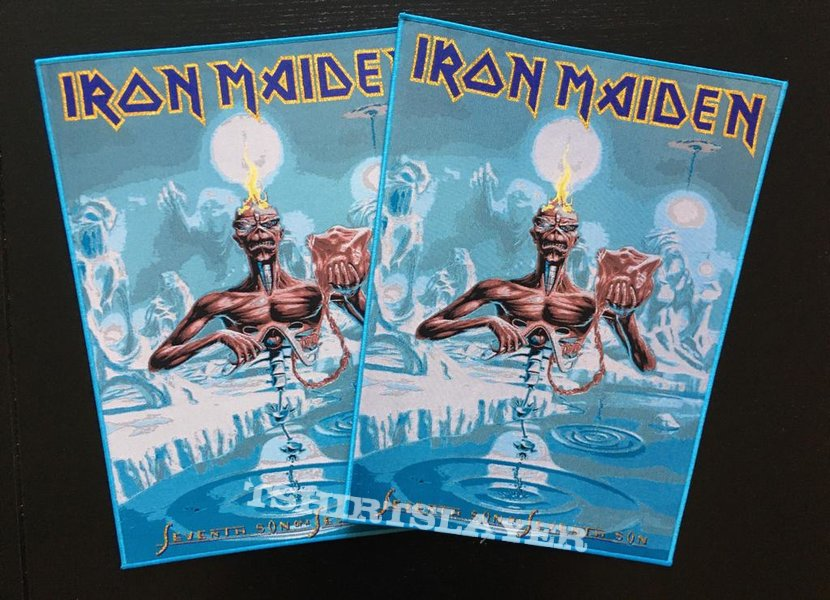 Iron Maiden - Seventh Son of a Seventh Son - Back Patch (nr. 3)
