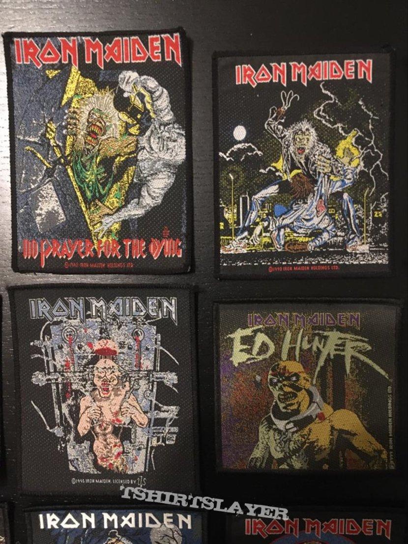 Iron Maiden - (Quite) Rare Vintage Patches