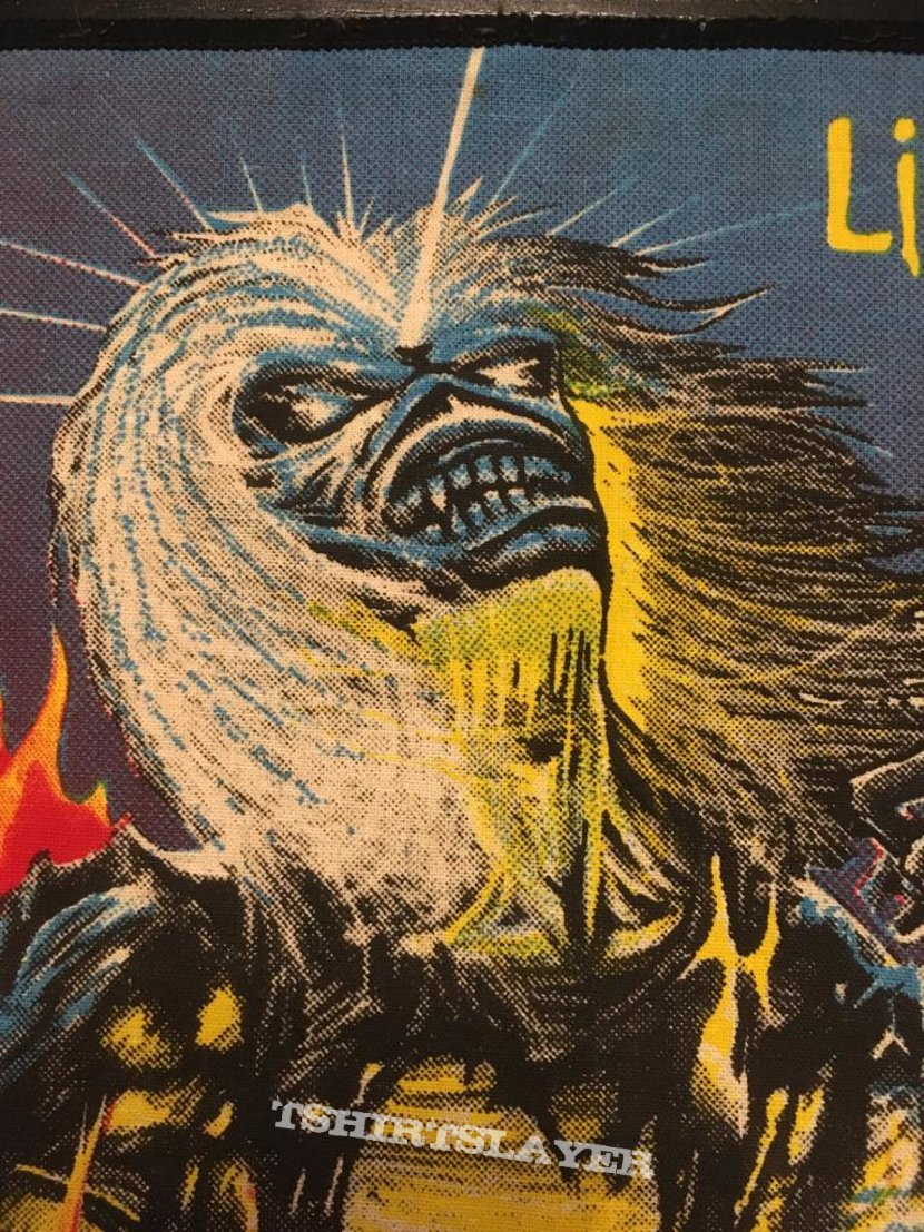 Iron Maiden - Live After Death - Bootleg Back Patch (version 2)