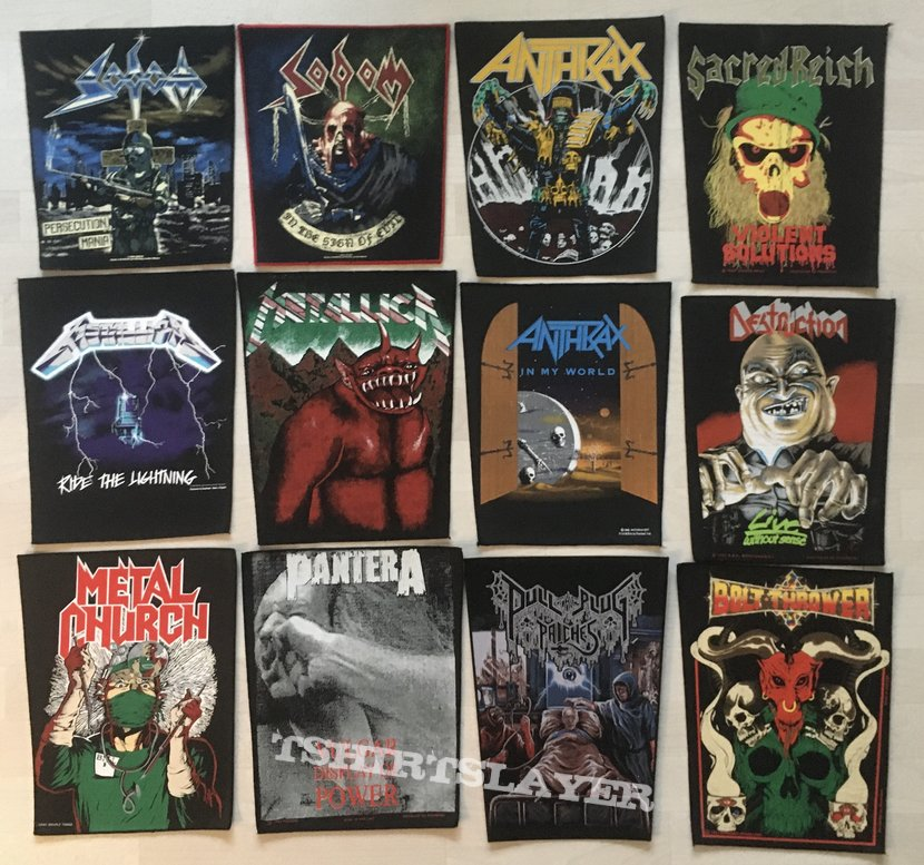Many Maiden + Other back patches - For you