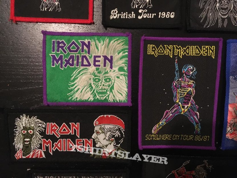 Iron Maiden - VERY Rare Vintage Patches