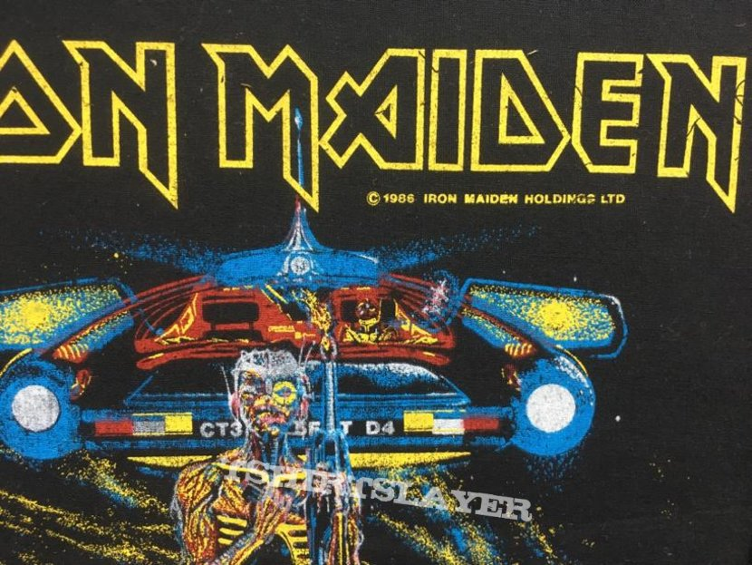 Iron Maiden - Somewhere on Tour - Back Patch 1986