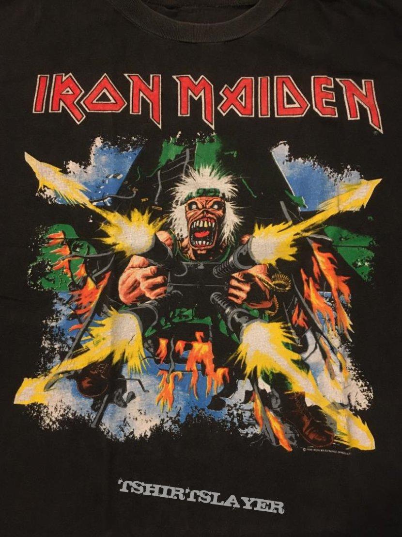 Iron Maiden - No Prayer on the Road - Vintage Tour T-shirts 1990