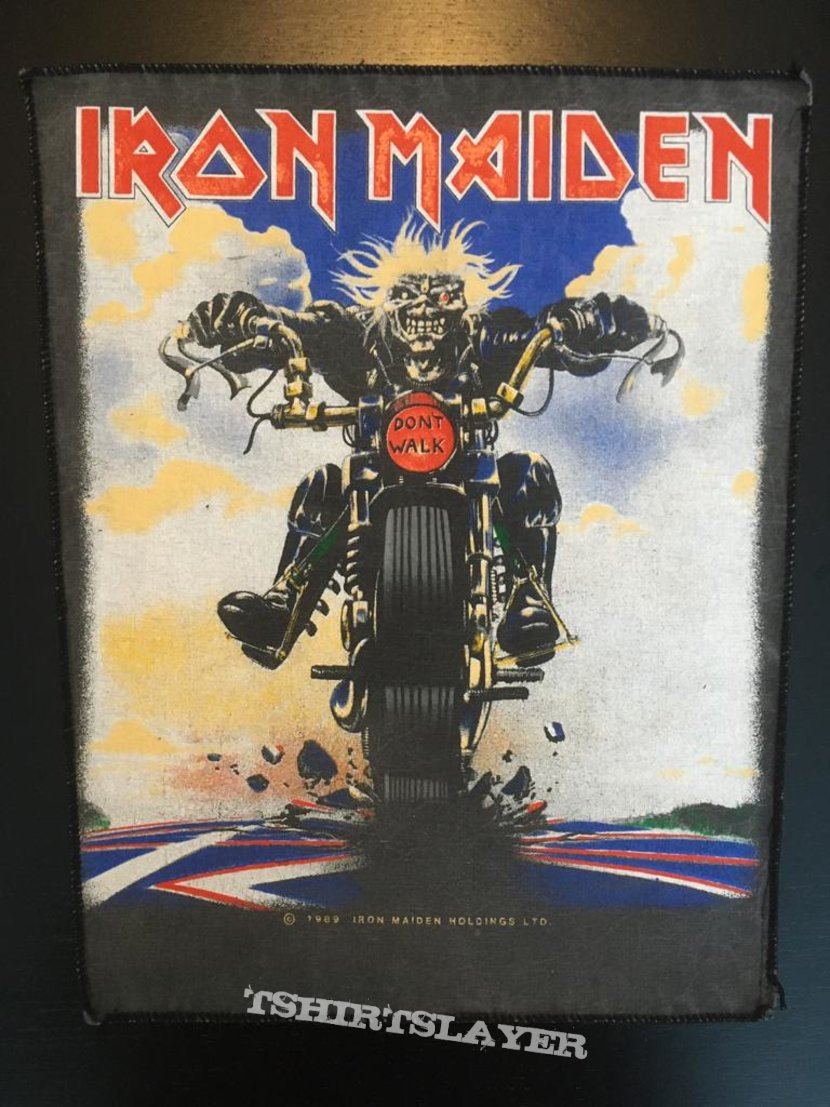 Iron Maiden - Don't Walk - Back Patch 1989