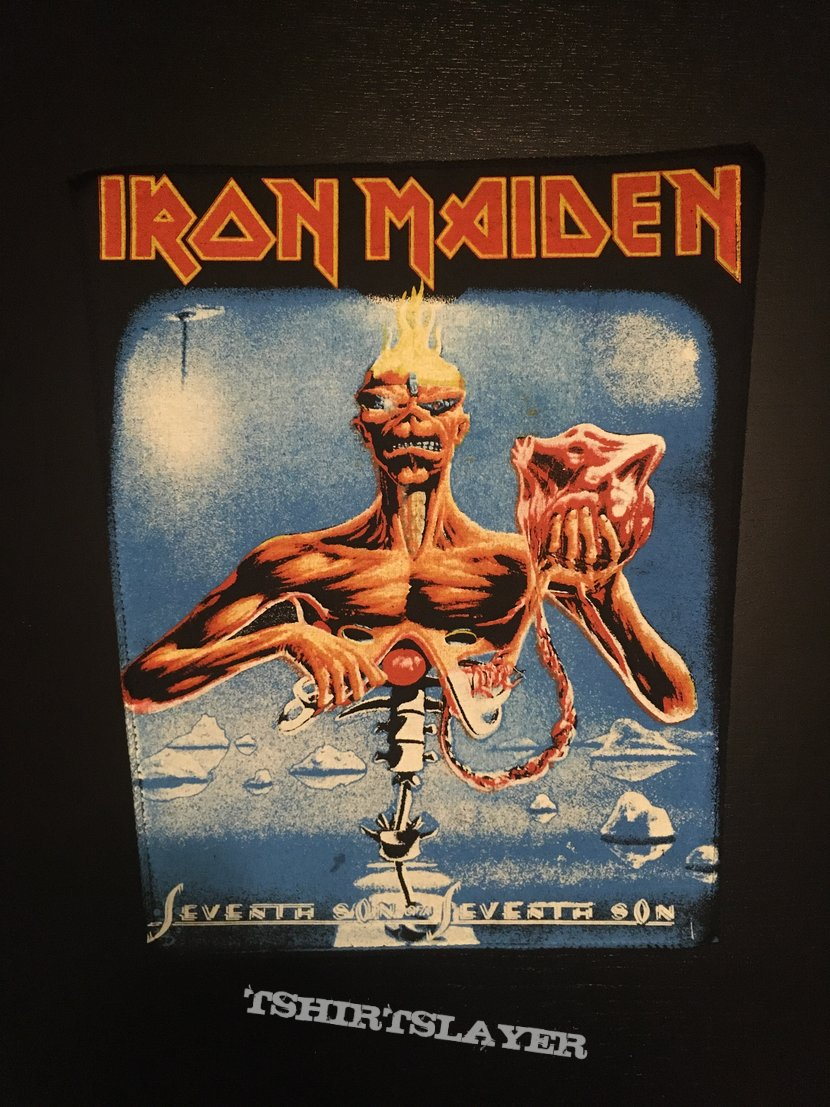 Iron Maiden - Seventh Son of a Seventh Son - Back Patch (nr. 4)